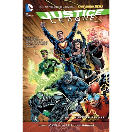 Five 52 Contractors Design (Justice League Vol. 5: Forever Heroes (The New)