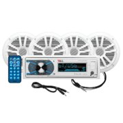 """Best Marine Stereo Systems - BOSS Audio Marine 180W 4 Pack 6.5"""" Speakers Review"""