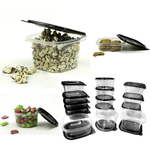 Imperial Home 30-Piece Plastic Food Container Set