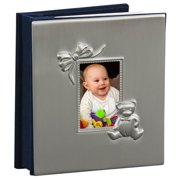 Creative Gifts International 024419 4 x 6 in. Pewter Finish Holds with 100 - Baby Album