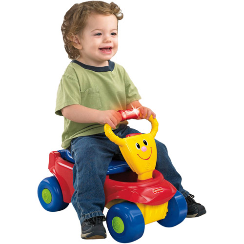 Fisher-Price 2-in-1 Wagon Rider Ride-On, Boys'