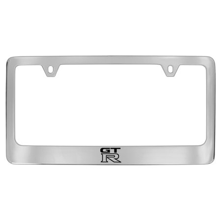 Nissan GTR Chrome Plated Metal License Plate Frame Holder ()
