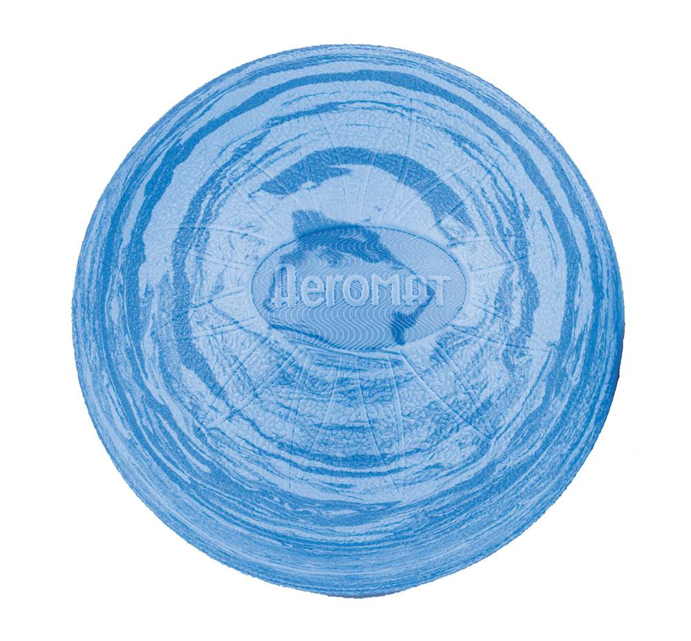 8 in. EVA Posture Ball in Marble Blue