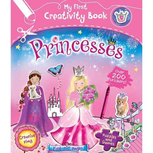 Princesses: With 200 Stickers, Puzzles and Games, Fold-out Pages, and Creative Play