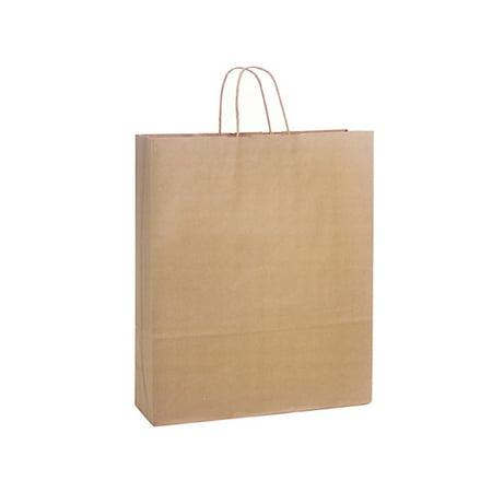 Queen Natural Kraft Shopping Bags 200 Pk 16x6x19  Queen Natural Kraft Shopping Bags 200 Pk 16x6x19  Brown Kraft Shopping Bags Paper Shopping BagsCartoon Unit Pack (Pcs) -200