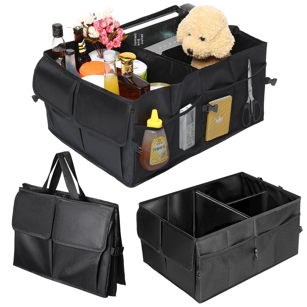 Car Trunk Organizer Collapsible Pocket Cargo Storage Box Case Bag Folding2