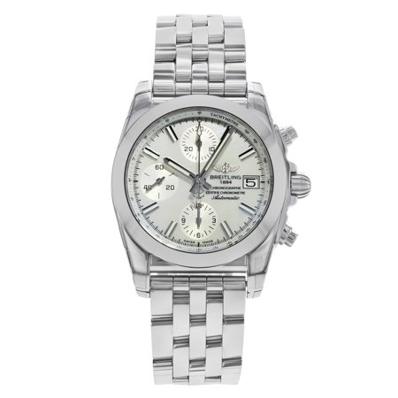 Breitling Chronomat 38 MOP Dial Steel Automatic Ladies Watch W1331012/A774-385A