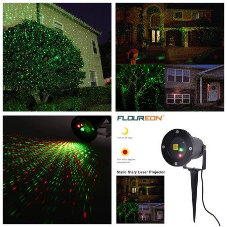 Floureon R G Waterproof Outdoor Landscape Garden Laser Projector Light Xm