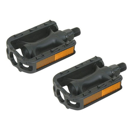 "Pedals 1/2"" 105n Black.Bike pedals, bicycle pedal, for lowrider , beach cruiser, chopper, limo, stretch bike"