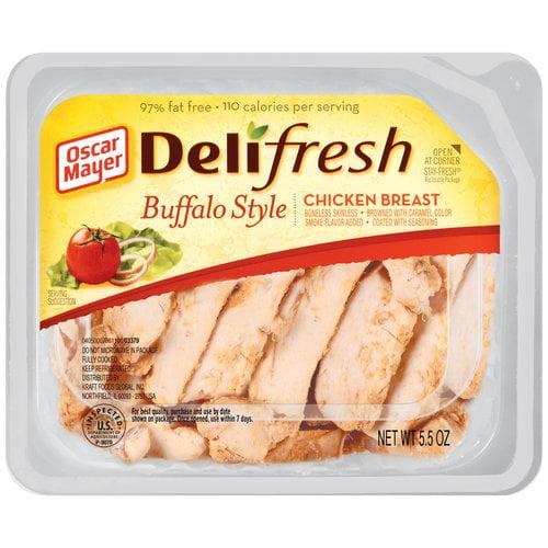 Oscar Mayer Deli Fresh Buffalo Style Chicken Breast, 5.5 oz