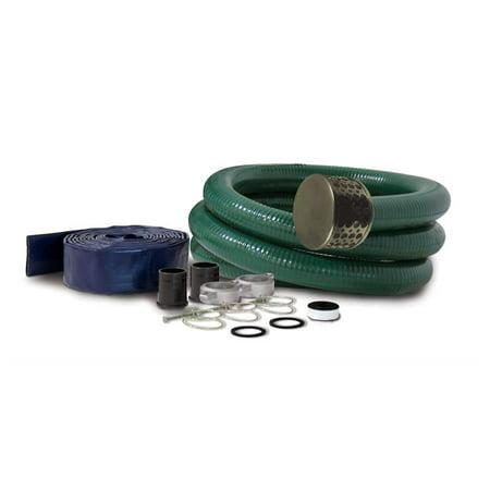 "Champion 3"" Hose Adapter Kit (for 3"" Semi-Trash Water Pump) #100198"