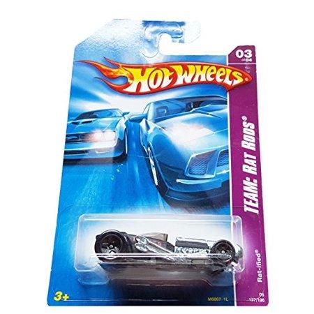 Hot Wheels 2008 127 Team: Rat Rods 3 of 4 Rat-ified 3/4 1:64