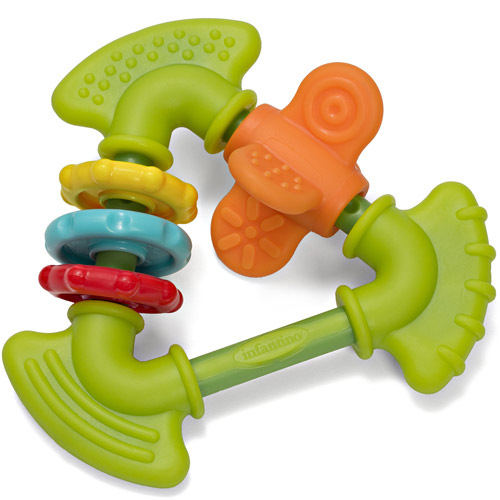 Infantino Topsy Turvy Chewy Activity Teether