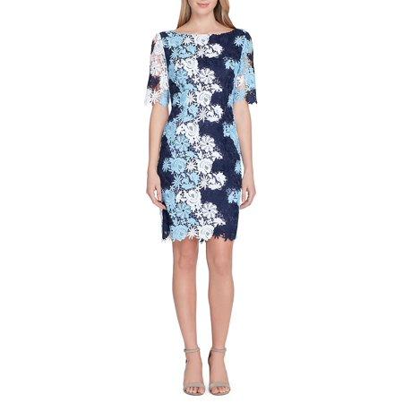 909626c575f8 Tahari Arthur S. Levine - Petite Colored Lace Sheath Dress - Walmart.com