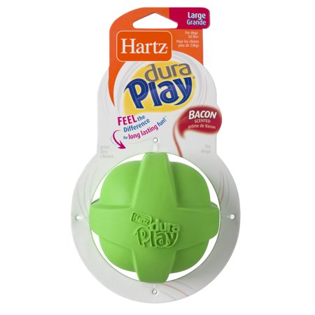 Hartz Dura Play Large Ball Dog Toy (Dog Toys That Help With Separation Anxiety)