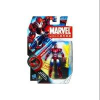 Marvel Universe Iron Patriot Helmet On Action Figure