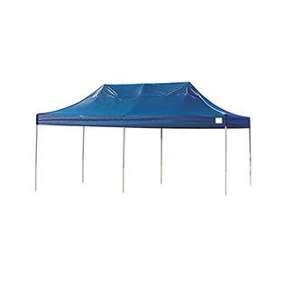 Truss Pro Straight Leg 10 x 20 ft. Pop-up Canopy Blue Polyester Cover