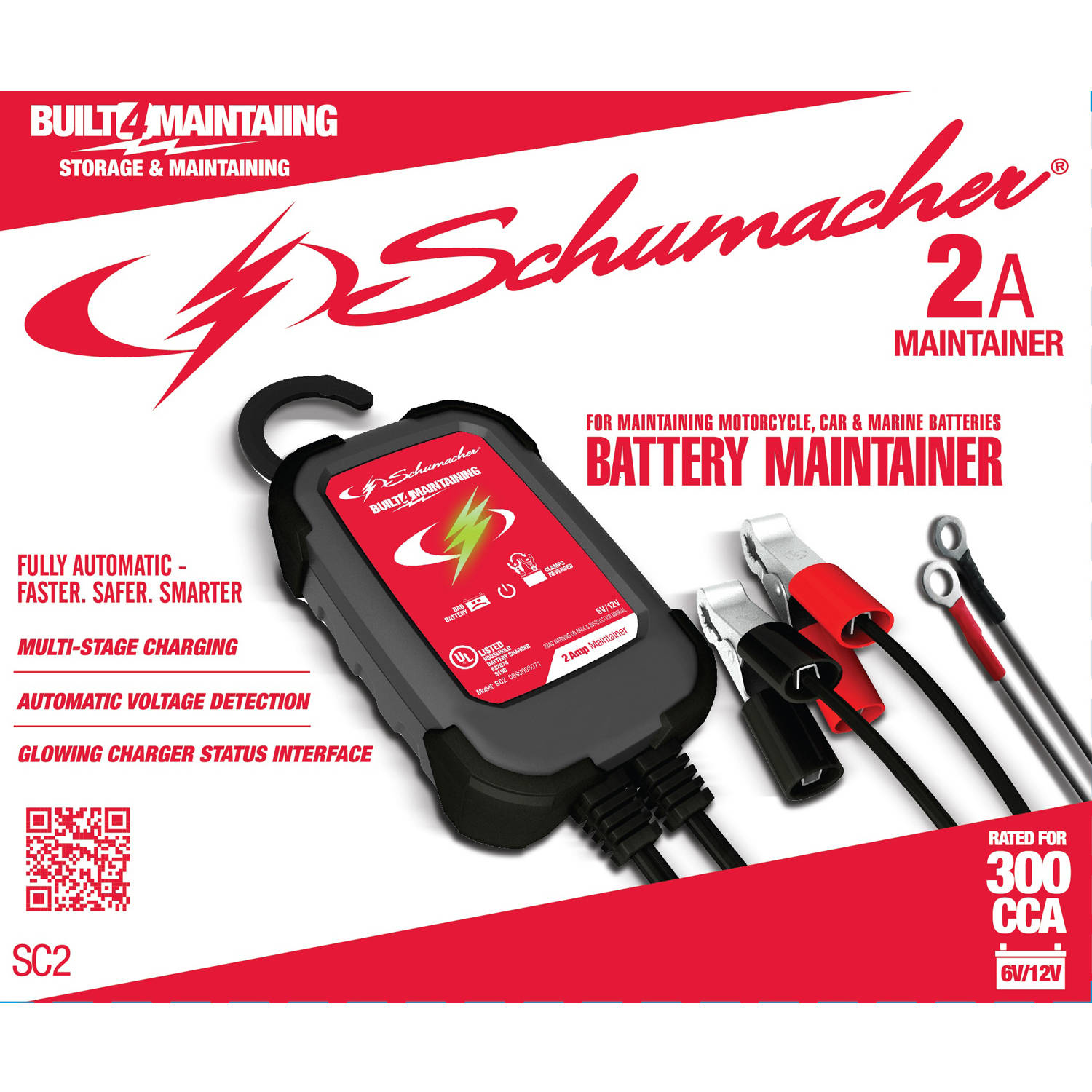 Schumacher Electric 2-Amp Maintainer