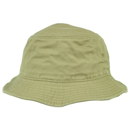 5a8151e9e American Needle Blank Plain Khaki Bucket Hat Sun Fitted Large XLarge Crusher