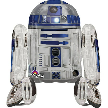 Star Wars R2D2 Gliding Balloon - How Tall Is R2d2