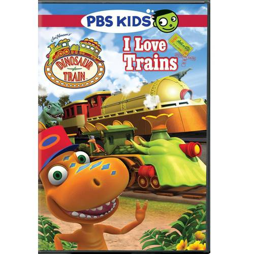 DINOSAUR TRAIN-I LOVE TRAINS (DVD)