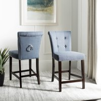 Marvelous Blue Safavieh Shop All Bar Stools Counter Stools Walmart Com Lamtechconsult Wood Chair Design Ideas Lamtechconsultcom