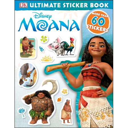 Disney Moana Ultimate Sticker Book