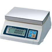 CAS SW-1-20 Portable Digital Scale  20 lb x 0 01 lb  Legal for Trade