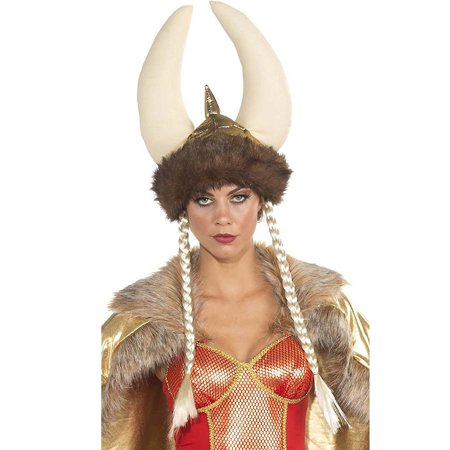 Viking Womens Adult Medieval Barbarian Warrior Costume - Viking Warrior Woman Costume