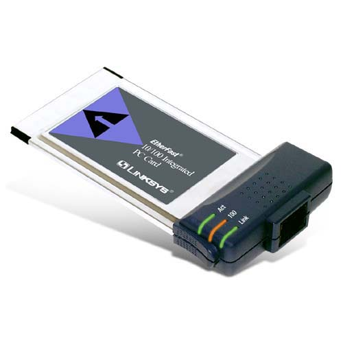 Linksys EtherFast 10 100 Integrated Network adapter PC Card 10 100 Ethernet (New Open Box) by Linksys