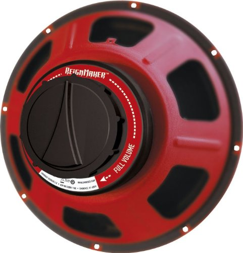 "Eminence Red Coat REIGNMAKER Speaker 75 W RMS 80 Hz to 6.20 kHz 8 Ohm 12"" by Eminence"
