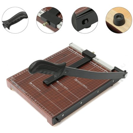 Mohoo A4 Paper Cutter Paper Trimmer Craft Scrap Booking Desktop Guillotine Sheet  12 7 X9 9 X1 2