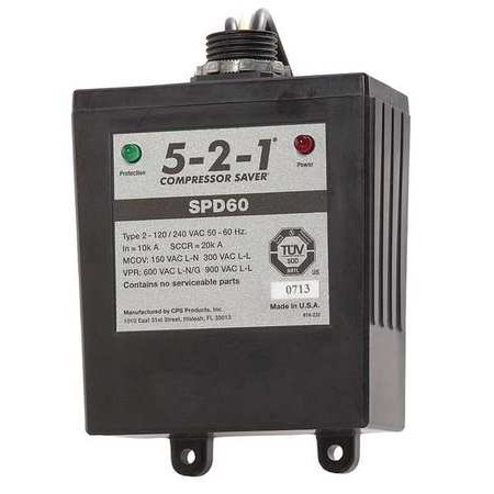 5-2-1 COMPRESSOR SAVER SPD60 Surge Protection Device,1