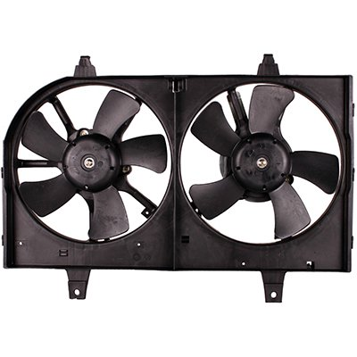 NEW DUAL COOLING FAN ASSEMBLY FITS 2000-2001 NISSAN MAXIMA 615343282879