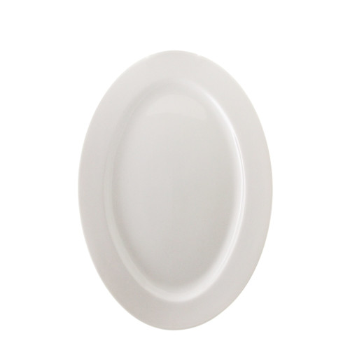 TenStrawberryStreet Bistro 12'' Oval Plate (Set of 6)