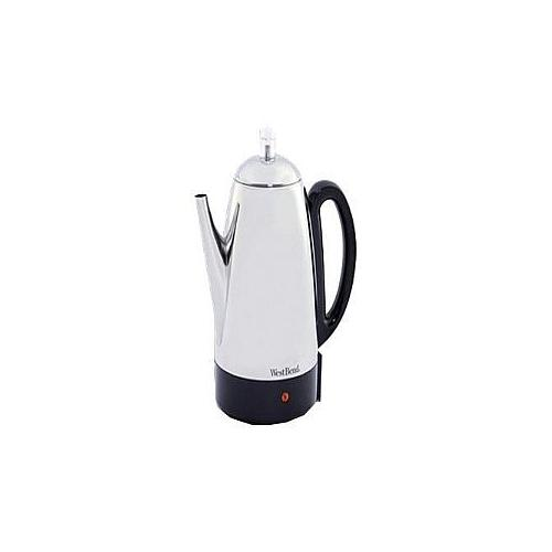 West Bend 54159 - - 12 cups - stainless steel