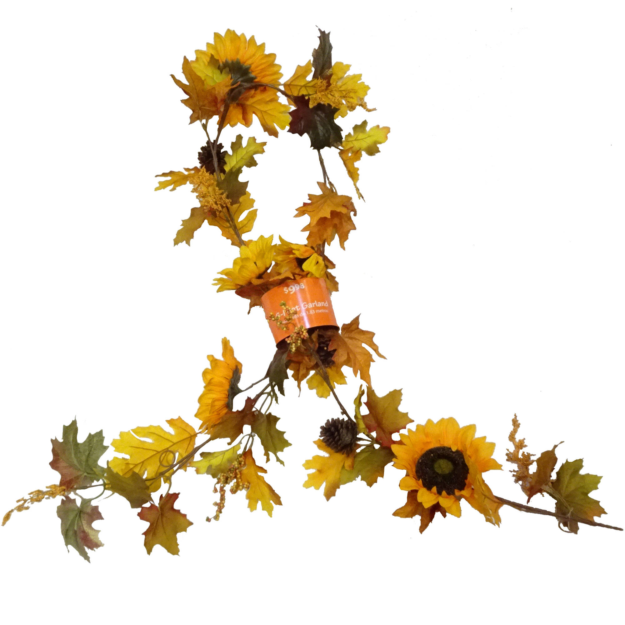Yellow Sunflower Mixed Garland