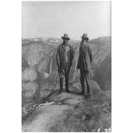 Theodore Roosevelt with John Muir Archival Photo Poster Print Poster - 13x19