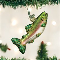 """Old World Christmas Alpine Rainbow Trout, 4.5"""" by Old World Christmas"""
