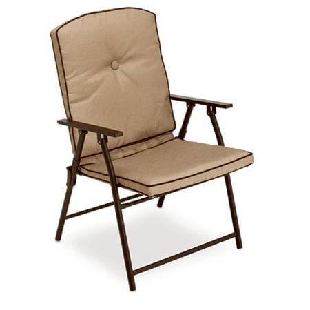 Courtyard Creations 4 Packs Fs Padded Fld Chair Walmart Com
