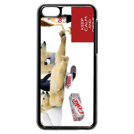 Keep Calm And Drink Diet Coke iPhone 5c Case (Iphone 6 Diet Coke Case)