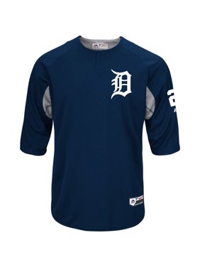 Miguel Cabrera Detroit Tigers Majestic Authentic Collection On-Field Player Batting Practice Jersey - Navy