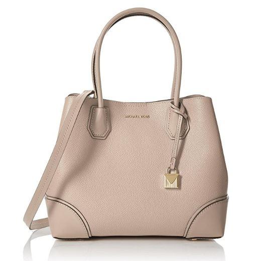 c0240b3192bf ... netherlands michael kors mercer medium leather satchel soft pink  30h7gz5t6a 187 9d94b 98050