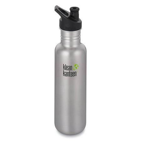 Klean Kanteen 1003086 Classic Coastal Waters Water Bottle with Sport Cap 3.0, 27oz