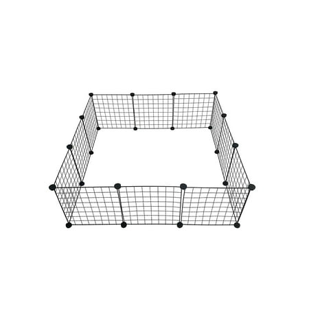 Midlee Guinea Pig Cage Panels- Set of 12 - Guinea Pig Halloween Cage