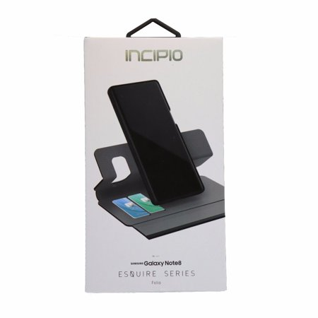 Incipio Esquire Series Folio Protective Case Cover for Galaxy Note 8 -