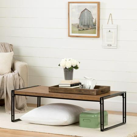 Bamboo Coffee Table (South Shore Gimetri Coffee Table, Rustic Bamboo)