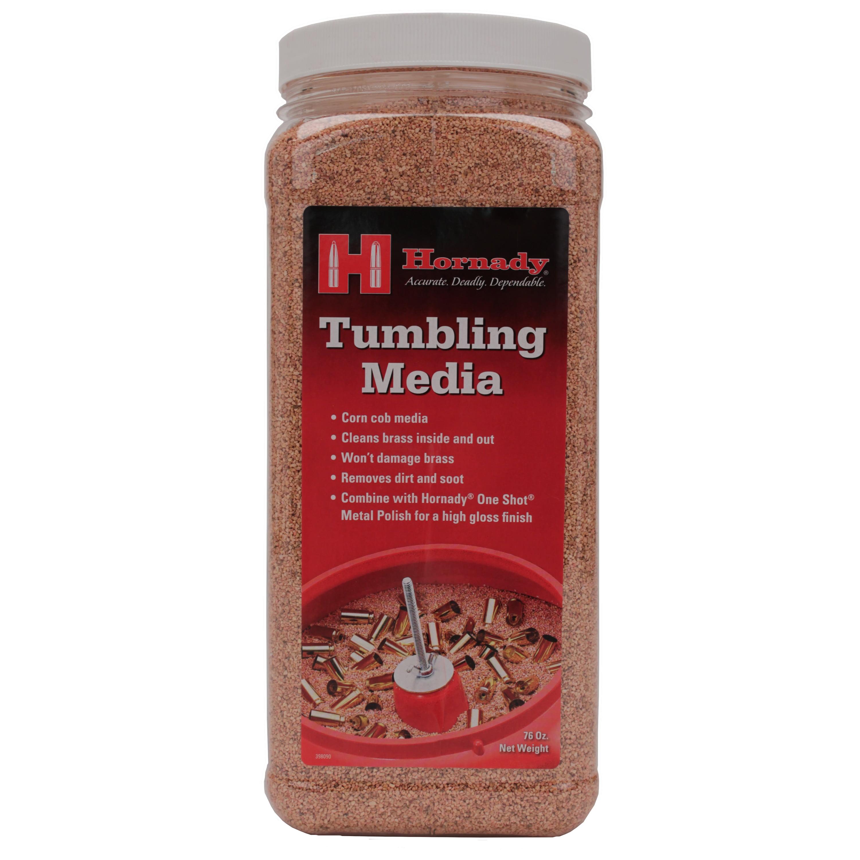 Hornady One Shot Tumbler Corn Cob Media, 4 3/4 lbs Jug