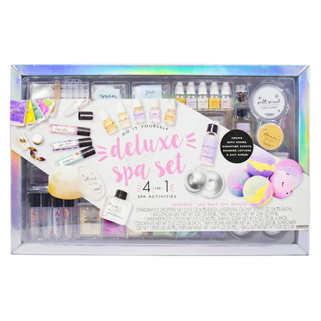 D.I.Y. Deluxe Spa Set, 1 Each - Diy Recycled Halloween Crafts