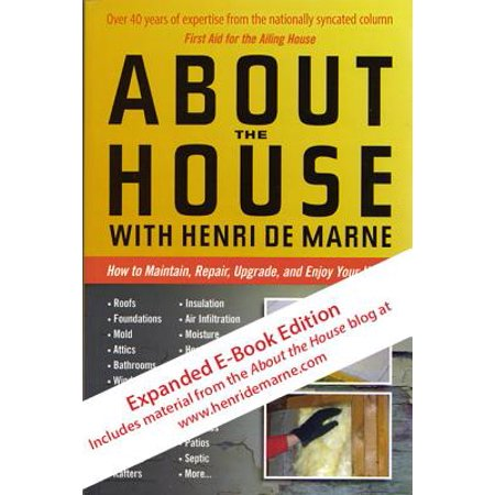- About the House with Henri de Marne: Expanded E-Book Edition - eBook